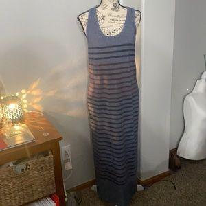 SunDry Striped Racerback Striped Maxi Dress